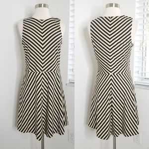 •J. MCLAUGHLIN• Striped Sleeveless Dress S